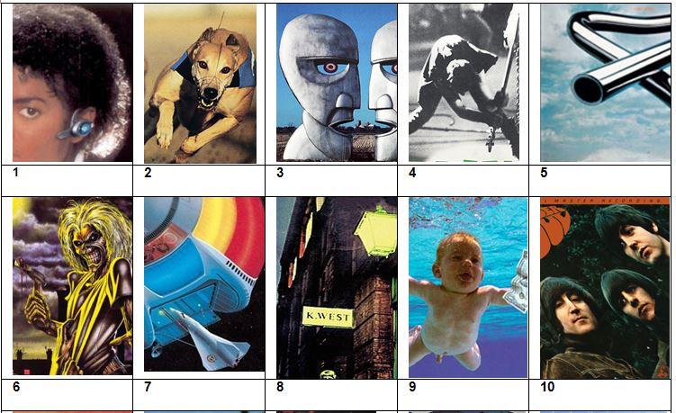 Picture Quiz 10 - Classic Albums